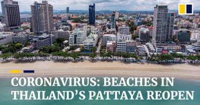 Seashores in Thailand's Pattaya reopen as country extra eases coronavirus restrictions