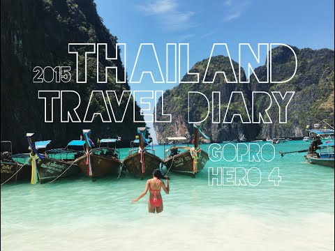 Thailand Fade back and forth Diary 2015 | Erika Joelle