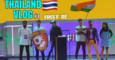 FREE FIRE STREAMER SHOWDOWN INDIA🇮🇳 X THAILAND 🇹🇭VLOG 1 || GARENA FREEFIRE