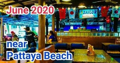 Sailor Bar come Pattaya Seaside serves beer with meals. June 2020