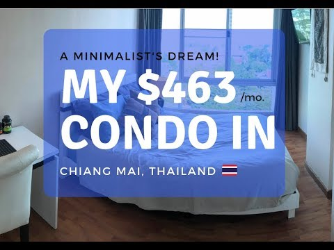 My $463 a Month Luxury Rental in Chiang Mai, Thailand – A Minimalist Dream