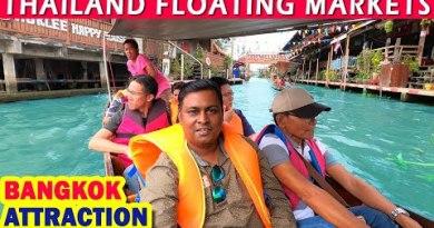 Thailand Floating Market   Bangkok Scoot Vlog   Bangkok Sights   Day – 9