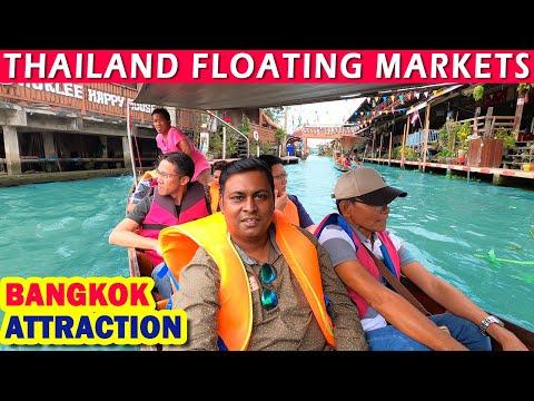 Thailand Floating Market | Bangkok Scoot Vlog | Bangkok Sights | Day – 9