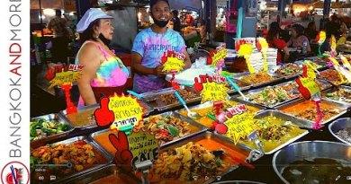 PATTAYA Avenue Food Night Market | OPEN AGAIN