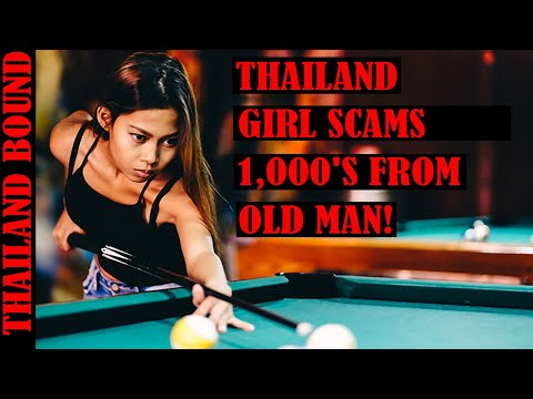 PATTAYA, THAILAND GIRL SCAMS MAN