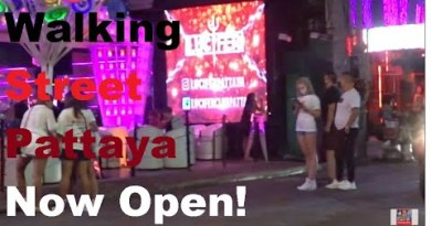 Walking Avenue Pattaya Now Inaugurate July 1,2020 Yahooo, Tourist so contented… Lets hasten test.