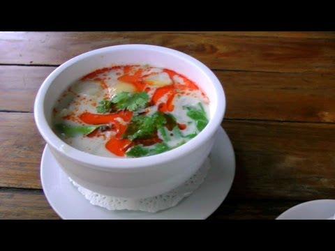 Tom Kha Gai – Cooked in Pattaya, Thailand | Thai Meals Video