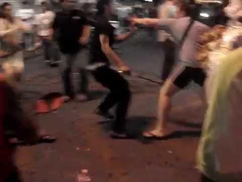 Pattaya Walking Boulevard Precise Battle 2019- Thai vs Russian !!!