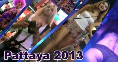 Pattaya 2013 beach to walkingstreet.