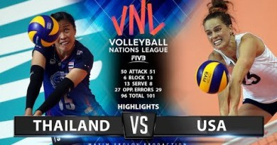 Thailand vs USA | Highlights | Girls's VNL 2019