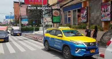 Pattaya – Seaside Avenue / 2nd Avenue – Thailand