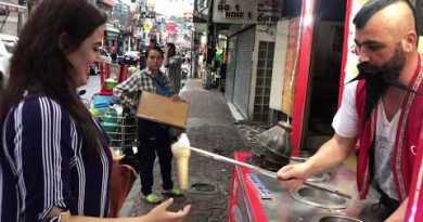 Turkish Ice-cream Prank in Thailand | Pattaya Walking avenue