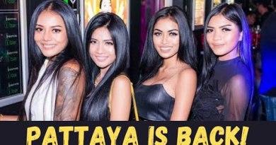 Pattaya Nightlife After Lockdown – iBar Insomnia Girls and Strolling Avenue!