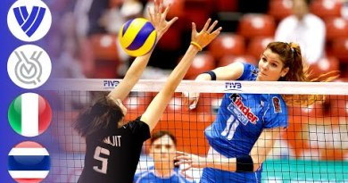 Italy vs. Thailand – FULL | Ladies's Volleyball World Olympic Qualifier 2016 | HD