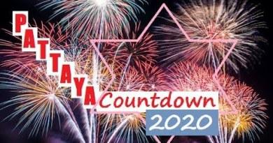 HAPPY NEW YEAR 2020 #PATTAYA  BEACH
