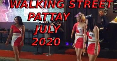 twenty first July 2020, Strolling Avenue, Pattaya, Open, Bar Girls, Party, Of us, Playing, Freedom, Dancing,