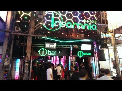 Insomnia club strolling boulevard Pattaya Thailand 2014