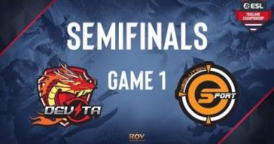 Neolution Esport vs Devita Recreation 1 | ESL Thailand Championship – ROV Playoffs