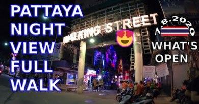 Pattaya, 7.8.2020, Begin, Bars, Eating locations, Strolling, Views, Thailand | Elegant girls, What's inaugurate,