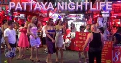 pattaya nightlife seaside road – club