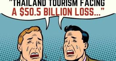 Thailand Tourism Dealing with $51.5 Billion Loss