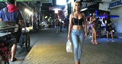 Pattaya Walking Avenue Gradual at Night