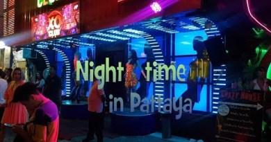 Pattaya walking avenue – Evening