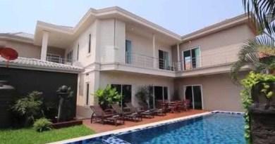 Pattaya Villas – City Haven Villa – 7 Bedroom