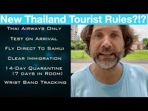 Thailand Opening Up For Tourism (not yet) – Current Rules – 60 Seconds in Thailand