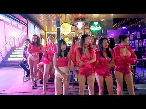 Walking Road Pattaya After Mid Evening 👉 Pattaya Evening Lifestyles Pattaya Evening Disappear With Girls 2020 👉