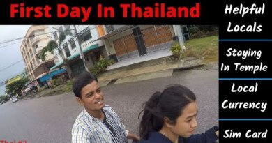 First Day In THAILAND || Currency || Sim Card