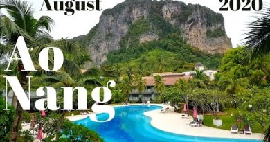 Ao Nang, Krabi Thailand, August 2020 Discuss over with