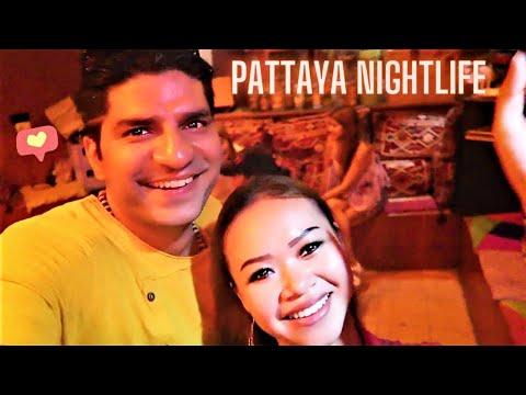 Pattaya Thailand Nightlife on Walking Side road 🇹🇭   Guru Anjana