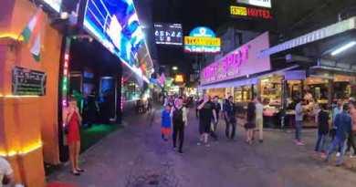 Walking Boulevard || Pattaya || Bangkok || Timelapse || Hyperlapse || Portion 2