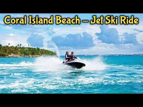 Loopy Jet Ski Scuttle in Pattaya Sea slide || Jet Ski Scuttle on Coral Island in Thailand