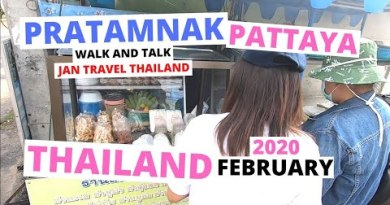 Pattaya Thailand Stroll and discuss in Pratamnak 28th of February 2020