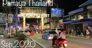 Walking Road, Pattaya Thailand Sep 2020