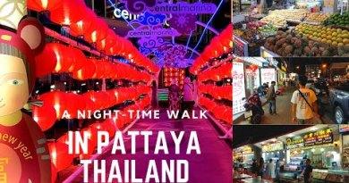 Night-time bound in Pattaya Thailand