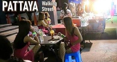 Walking Avenue Pattaya September 2020.