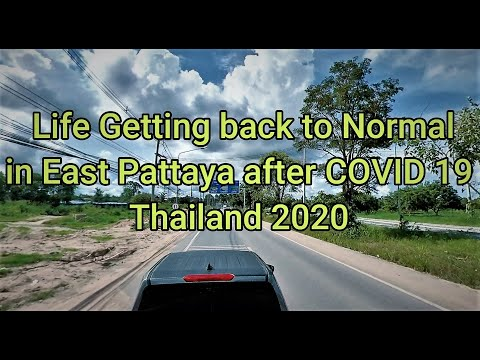 Getting Attend to Fashioned after Covid 19 in Pattaya Thailand 2020