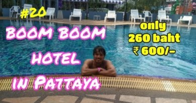 Simplest luxury hotel in Pattaya at cheap label 260 baht.. vlog #20  #hotel, #pattaya,