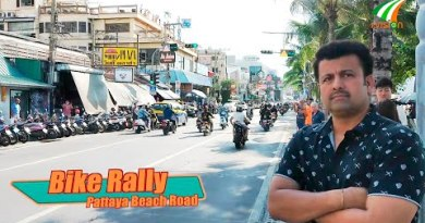 Bike Rally, Pattaya Seaside Avenue, Thailand