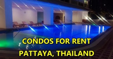 CONDOS FOR RENT IN PATTAYA, THAILAND