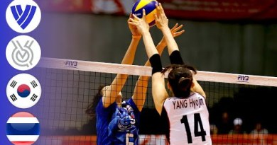 Korea vs. Thailand   Ladies people's Volleyball World Olympic Qualifier 2016