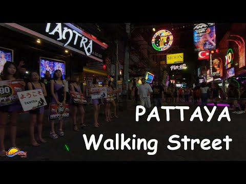 Pattaya nightlife 2020 – Walking Aspect street girls Night time Scenes