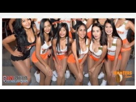 My Hooters Birthday Meal With Mo, Seashore Avenue Pattaya Vlog