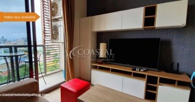 Sea Hit upon condo for Sale at Unixx South Pattaya.