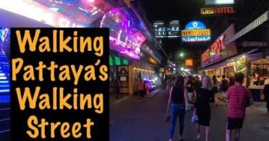 Walking Pattaya's Walking Avenue