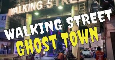 Pattaya Thailand – 'Strolling Boulevard' ghost metropolis