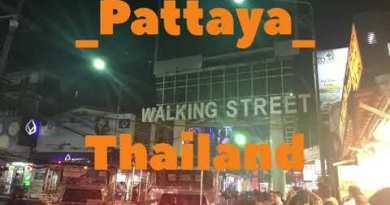 Walking Avenue| Nightlife Pattaya |Thailand